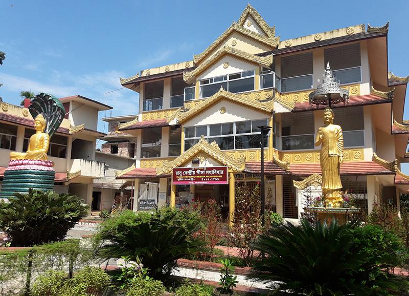 দৃষ্টিনন্দন রামু কেন্দ্রীয় সীমা মহাবিহার
